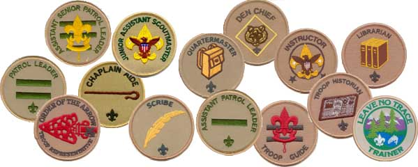 Troop Position Patches