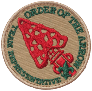 Order of the Arrow Troop Representative