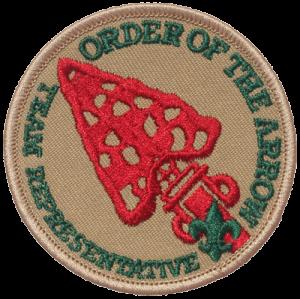 Order of the Arrow Troop Representative